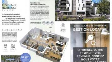 Vente appartement 3 p. 63 m²