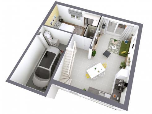 Maison individuelle 5 pièces