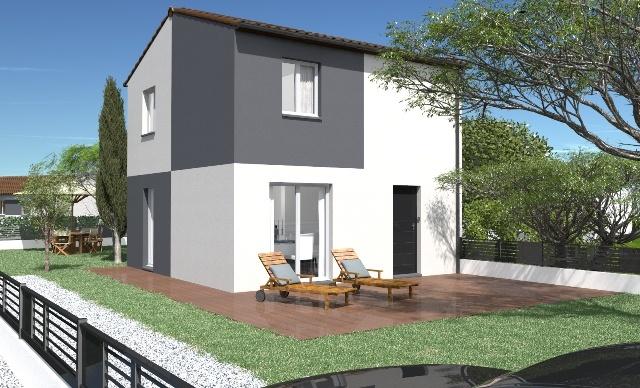 Maison et terrain constructible à Blanquefort