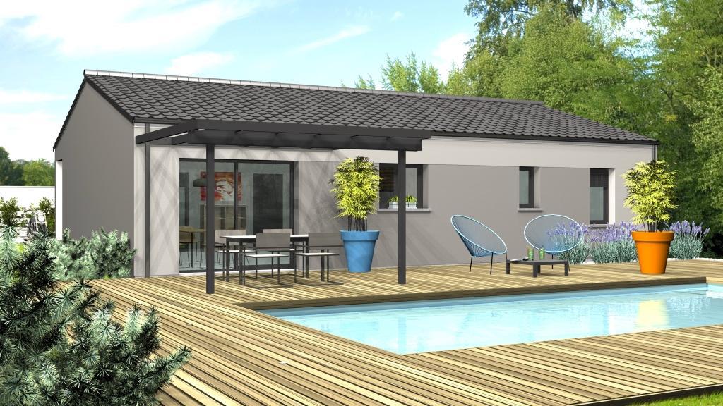 Maison à construire à Bergerac(24100)  sur un terrain de 750m²