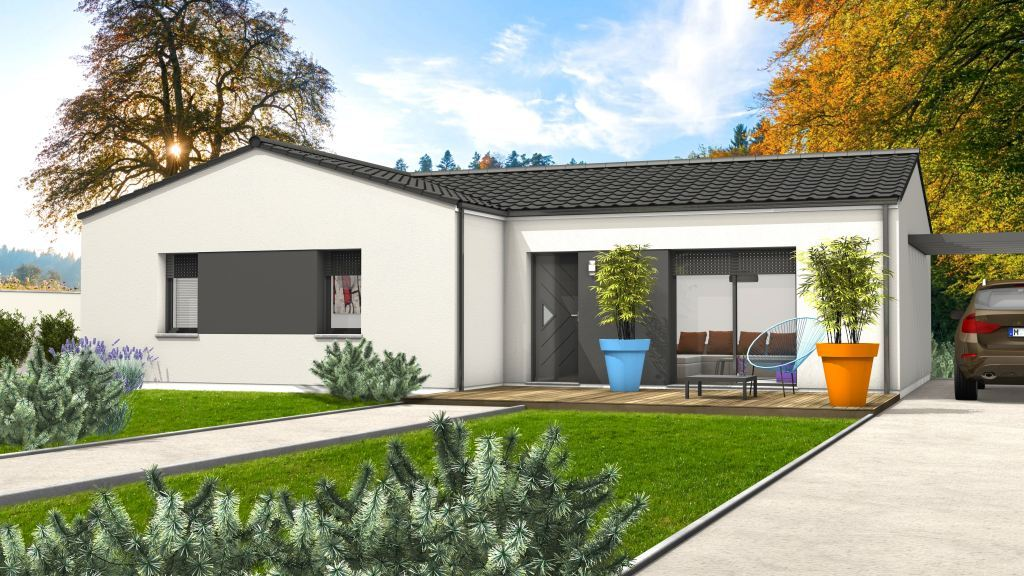 Maison à construire à Monsempron-Libos(47500)  sur un terrain de 1360m²