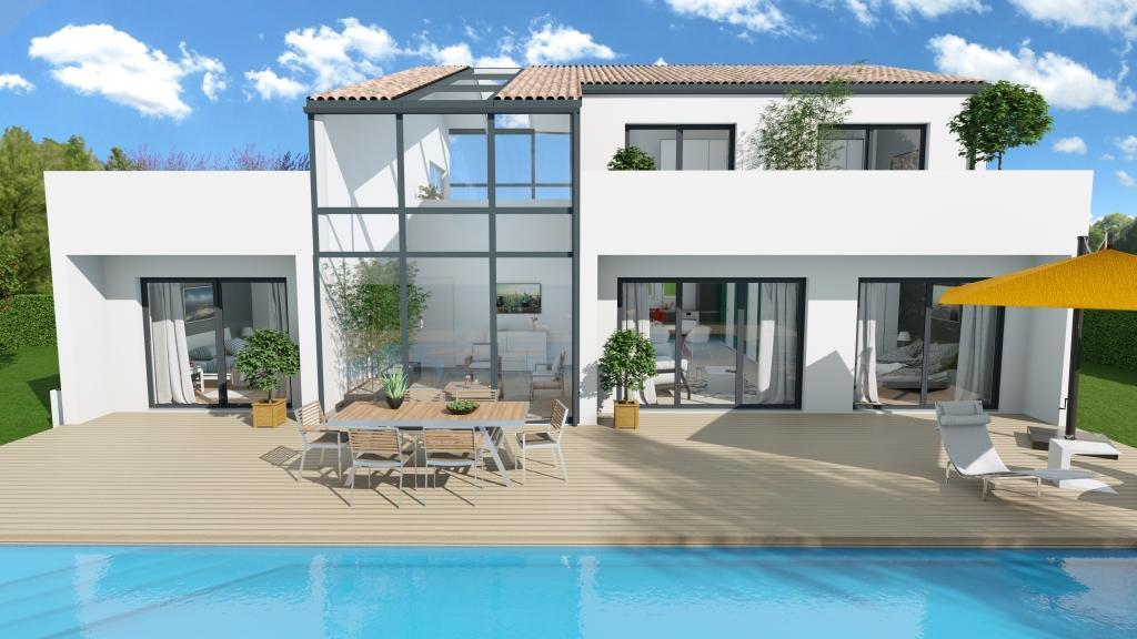 Maison et terrain constructible à Cestas