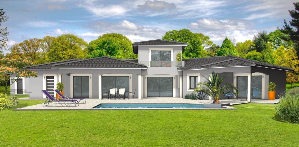 Maison à construire à Castillonnès(47330)  sur un terrain de 3300m²