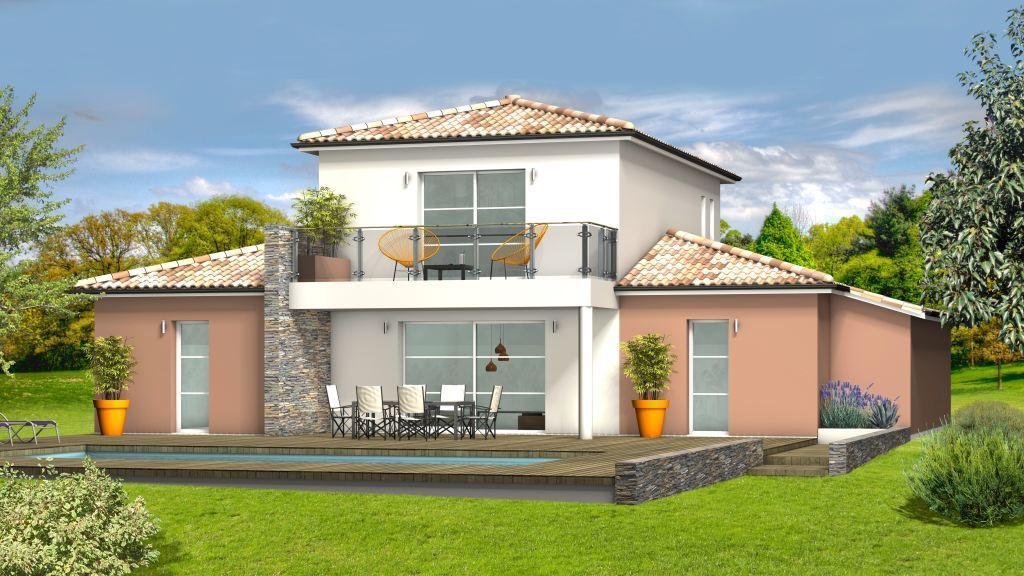 Maison à construire à Saint-Germain-et-Mons(24520)  sur un terrain de 1500m²
