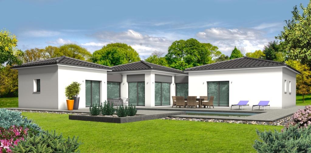Maison à construire à Négrondes(24460)  sur un terrain de 1400m²