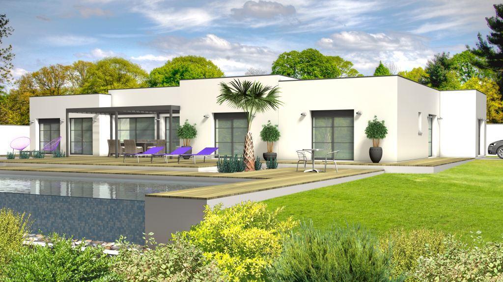 Maison à construire à Lougratte(47290)  sur un terrain de 3000m²
