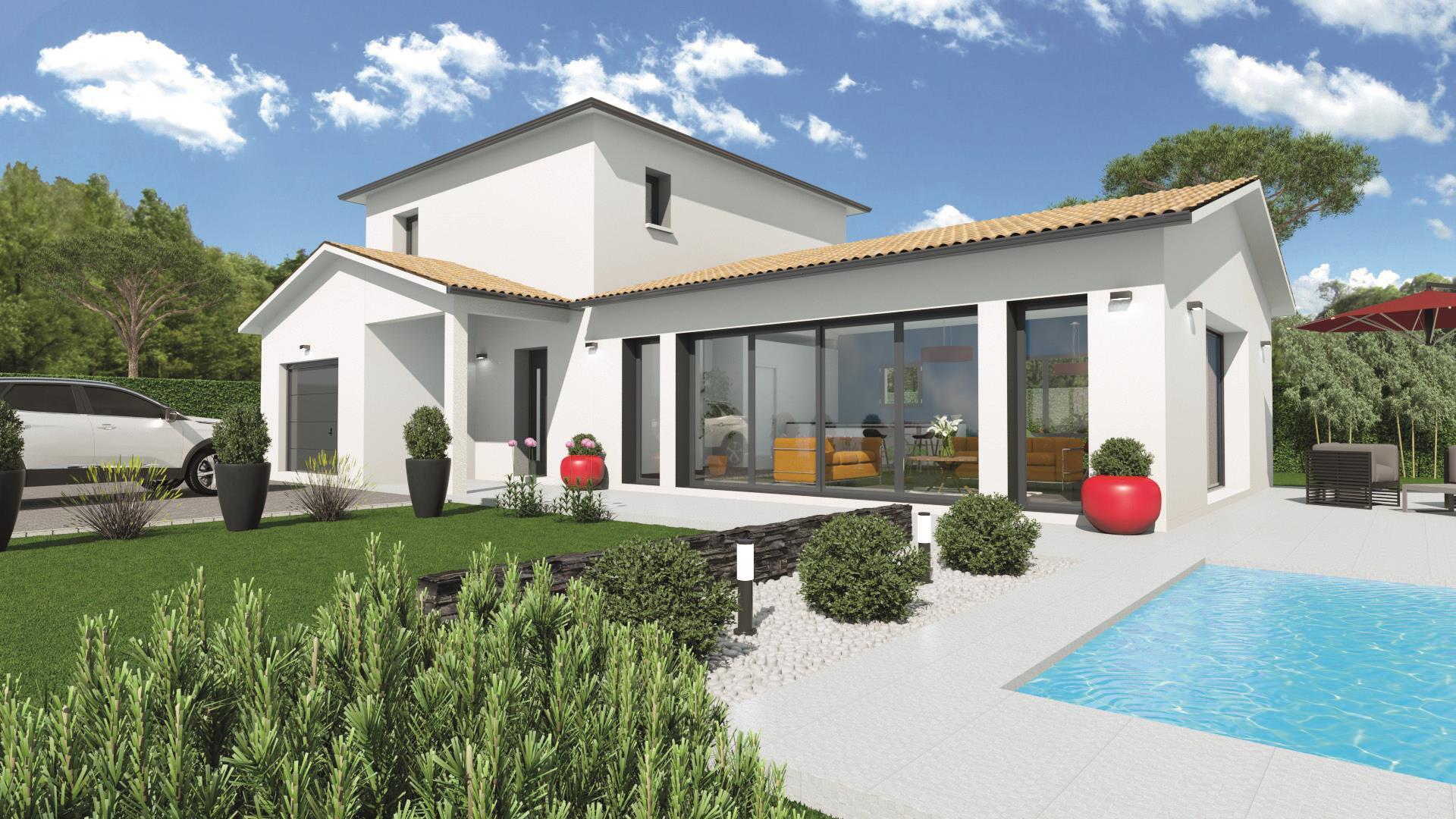 Maison et terrain constructible à Martillac