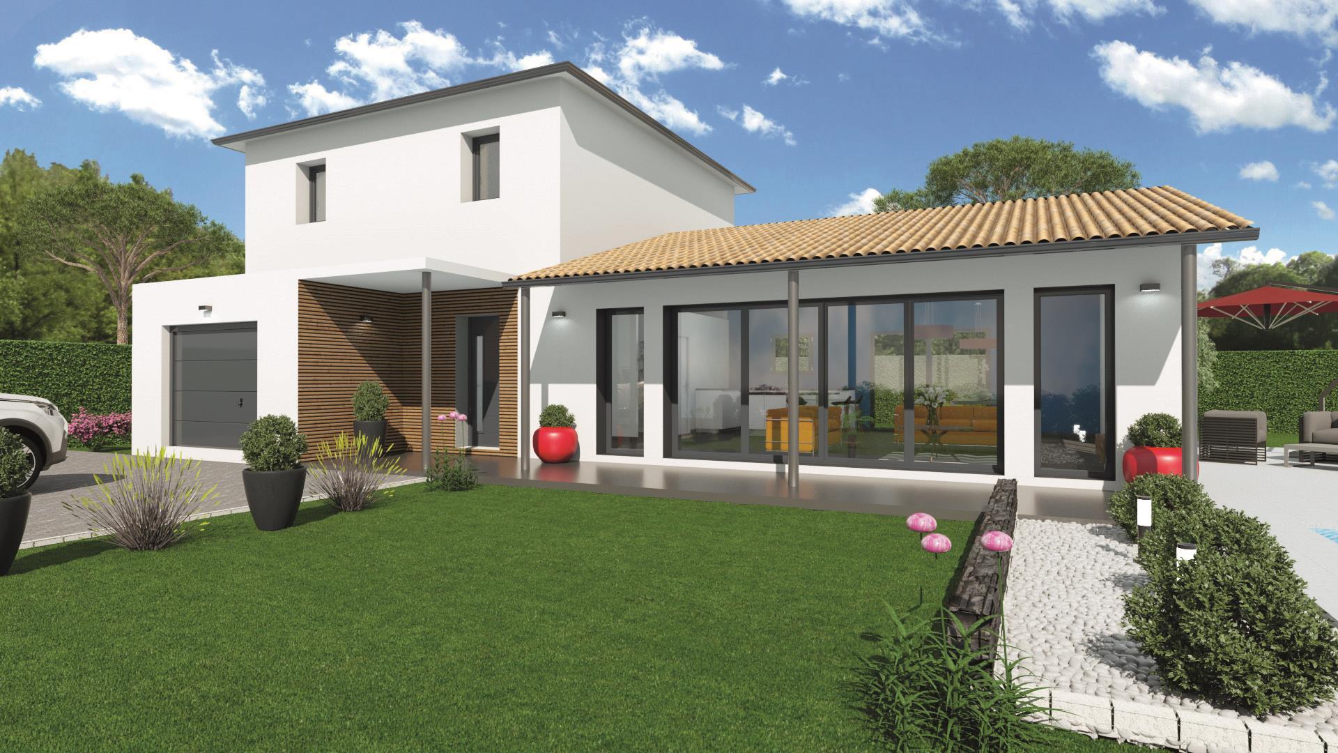 Maison et terrain constructible à Gradignan