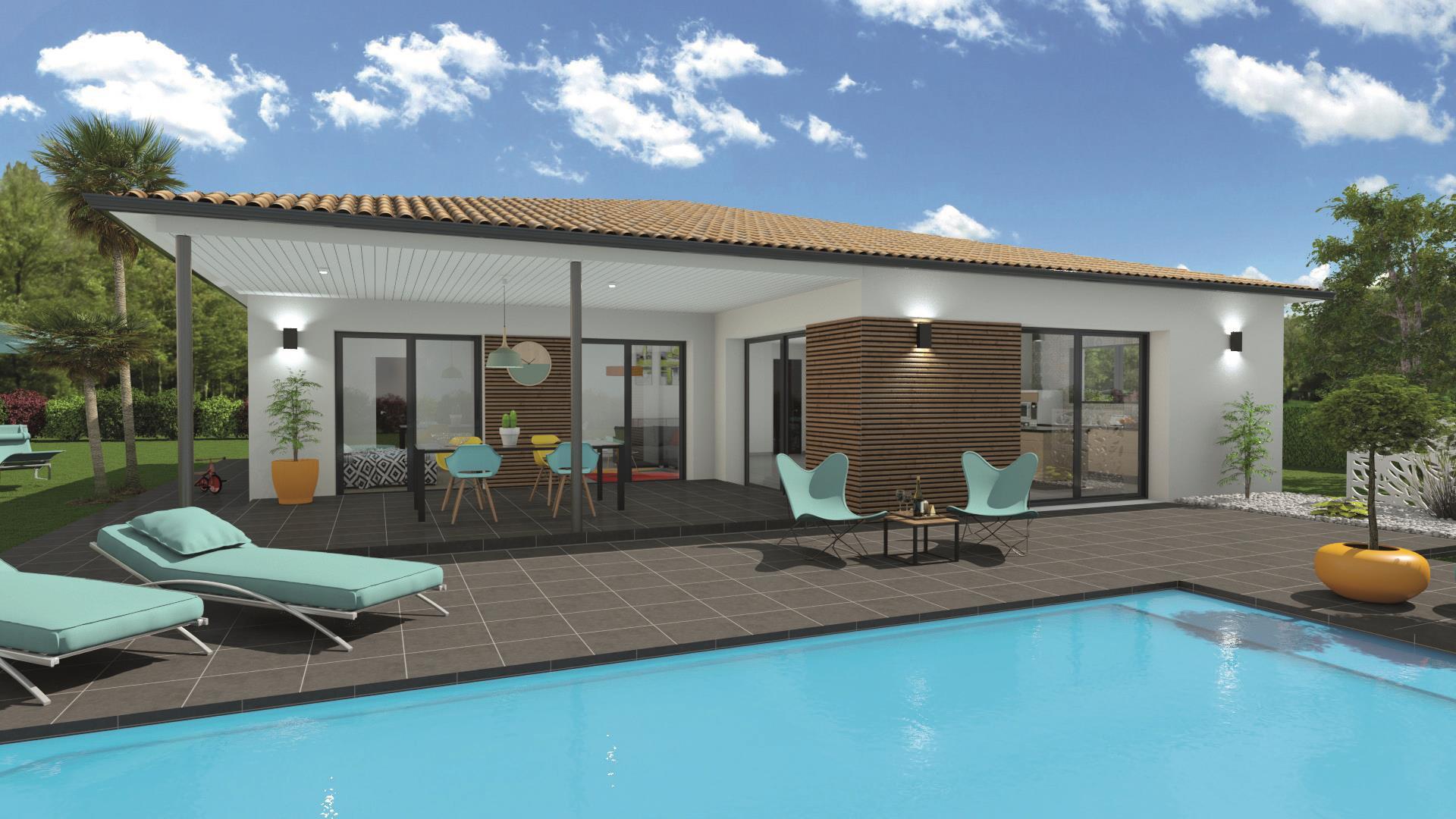 Maison et terrain constructible à Bouniagues