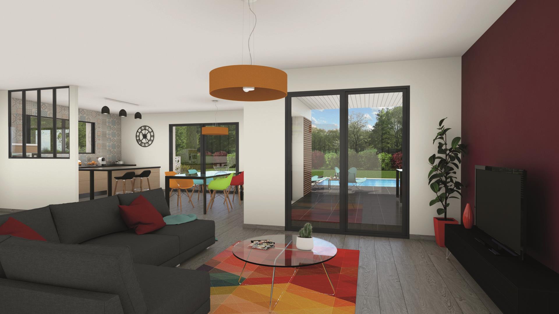 Maison et terrain constructible à Saint-Martin-de-Laye