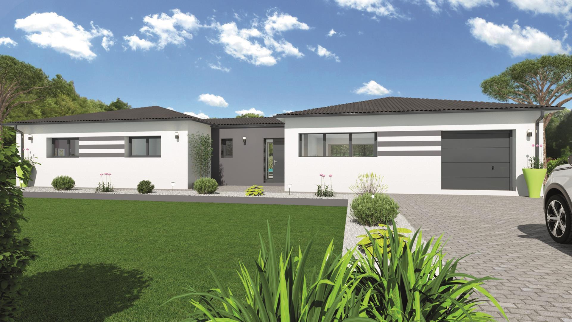 Maison et terrain constructible à Le Teich