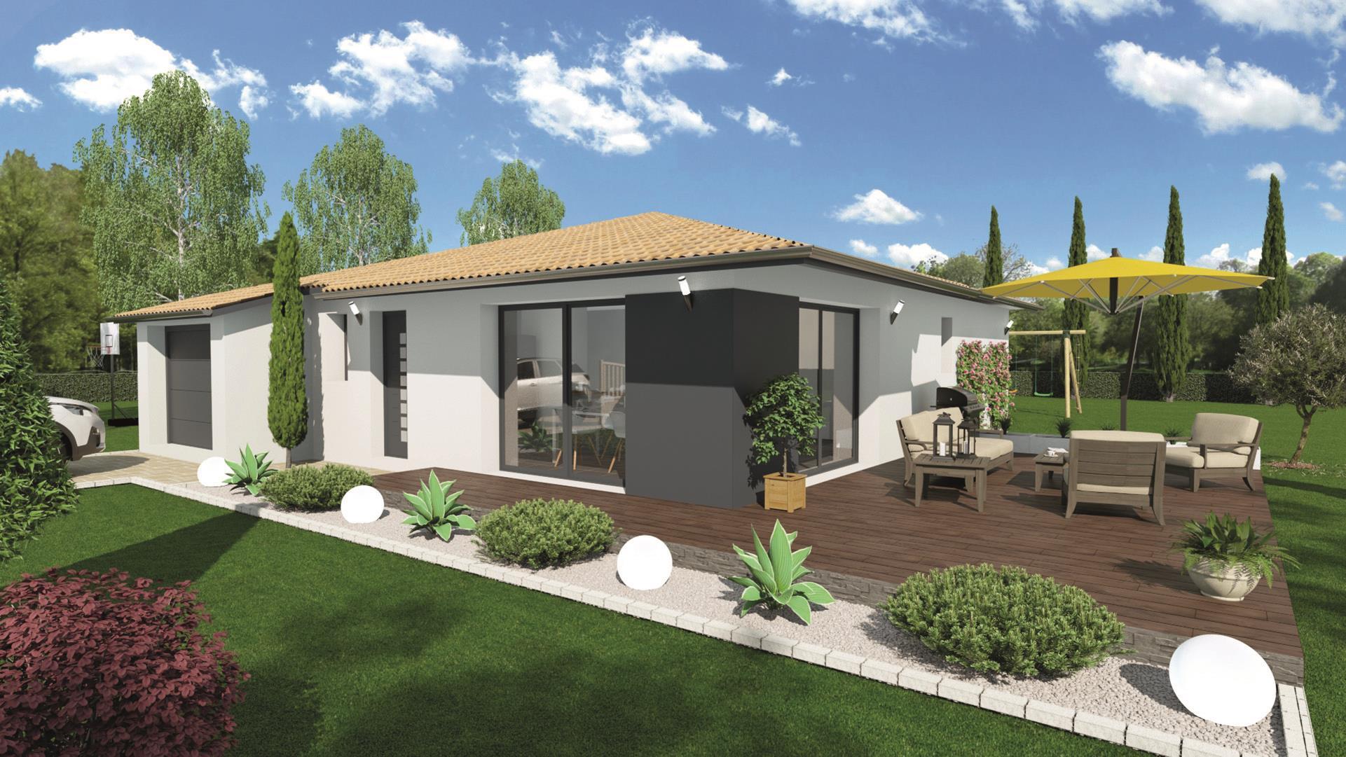 Maison et terrain constructible à Coutras