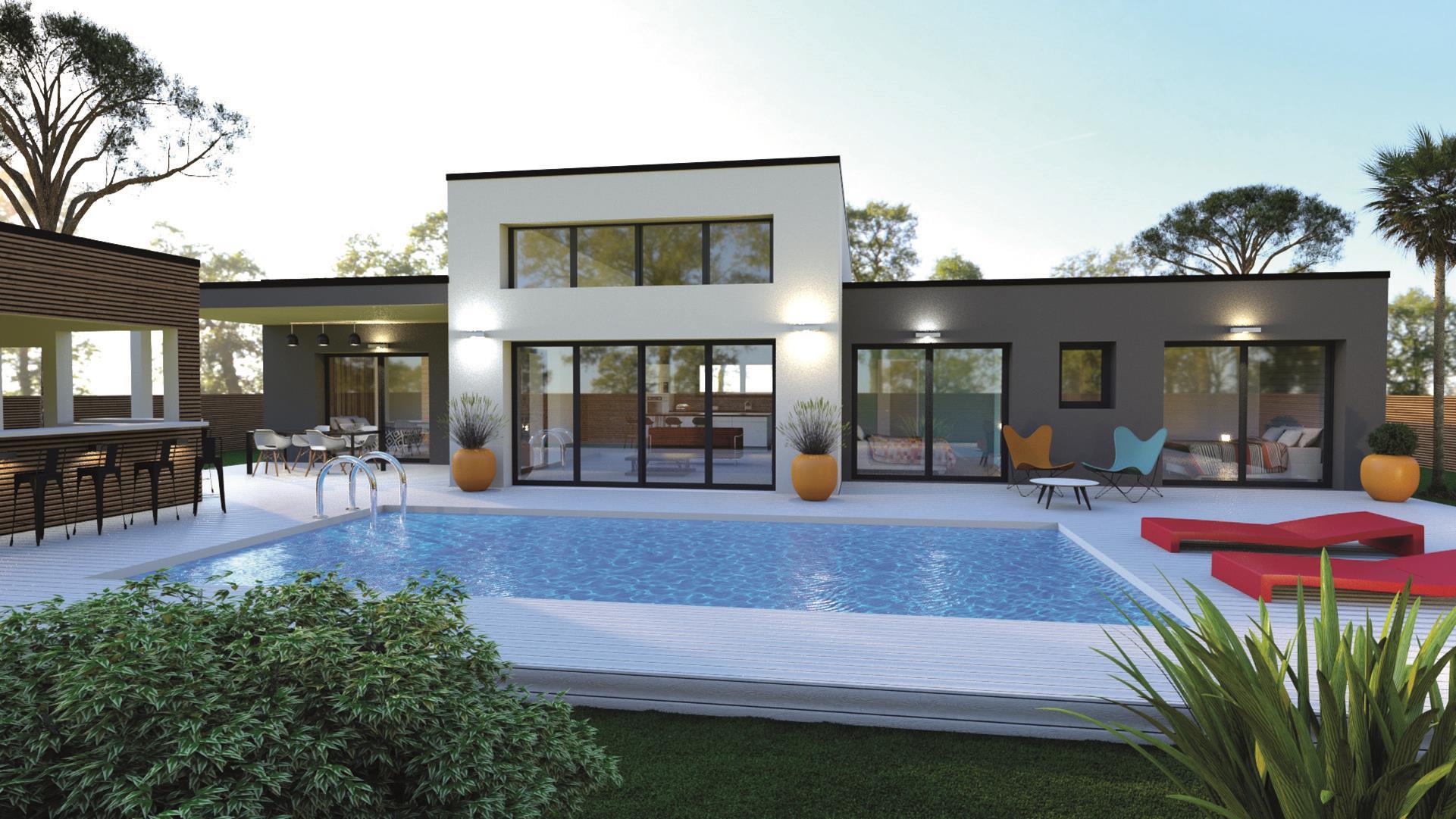 Maison et terrain constructible à Cazaux