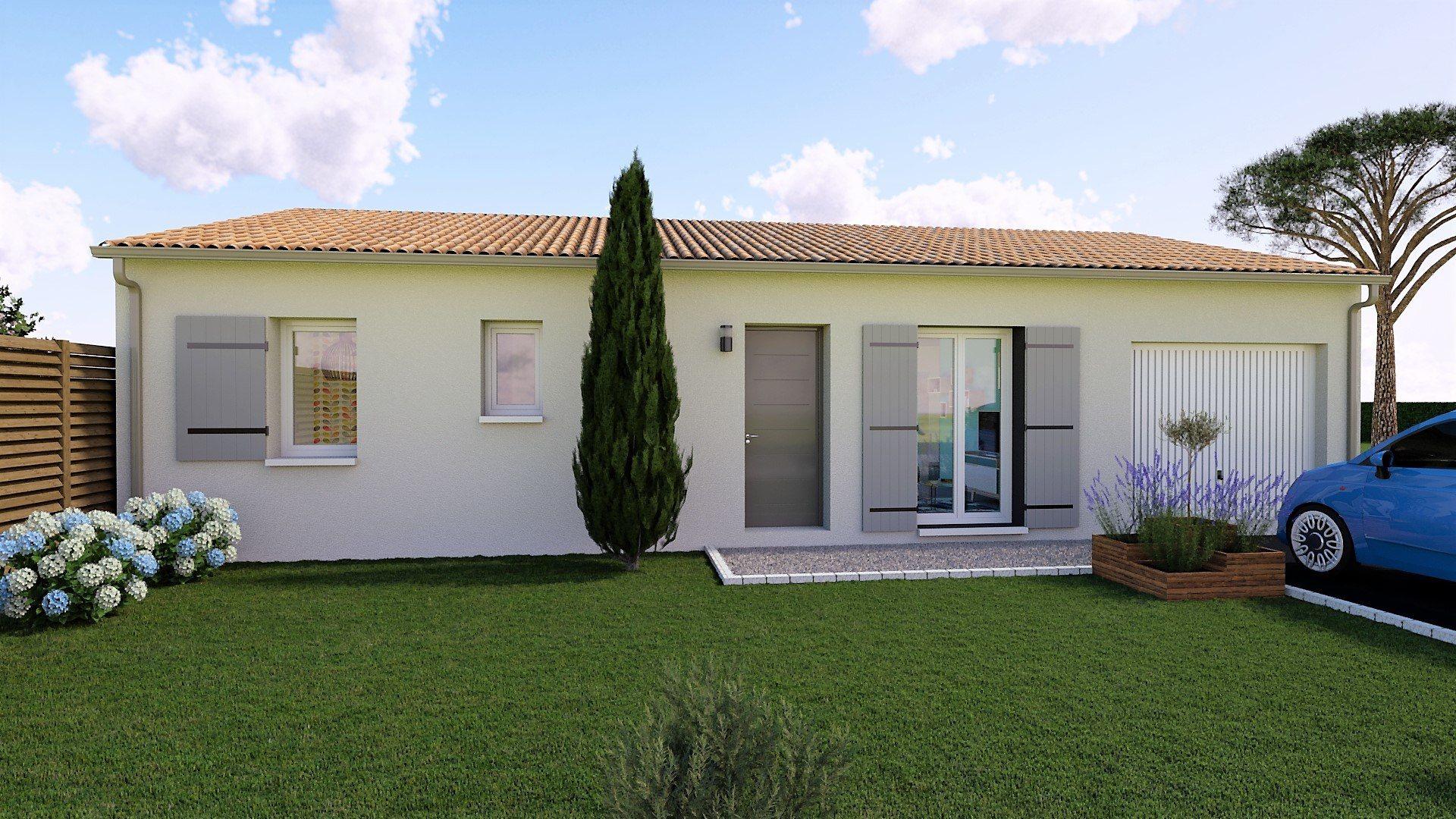 Maison et terrain constructible à Pontonx-sur-l'Adour