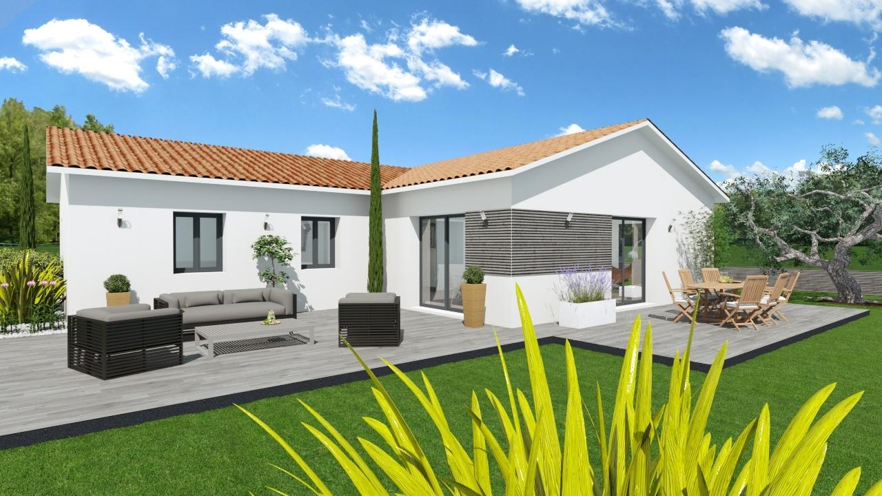 Maison et terrain constructible à Salles