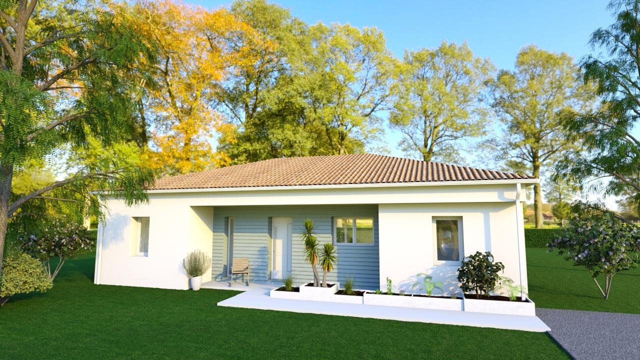 Maison à construire à Saint-Junien(87200)  sur un terrain de 1150m²