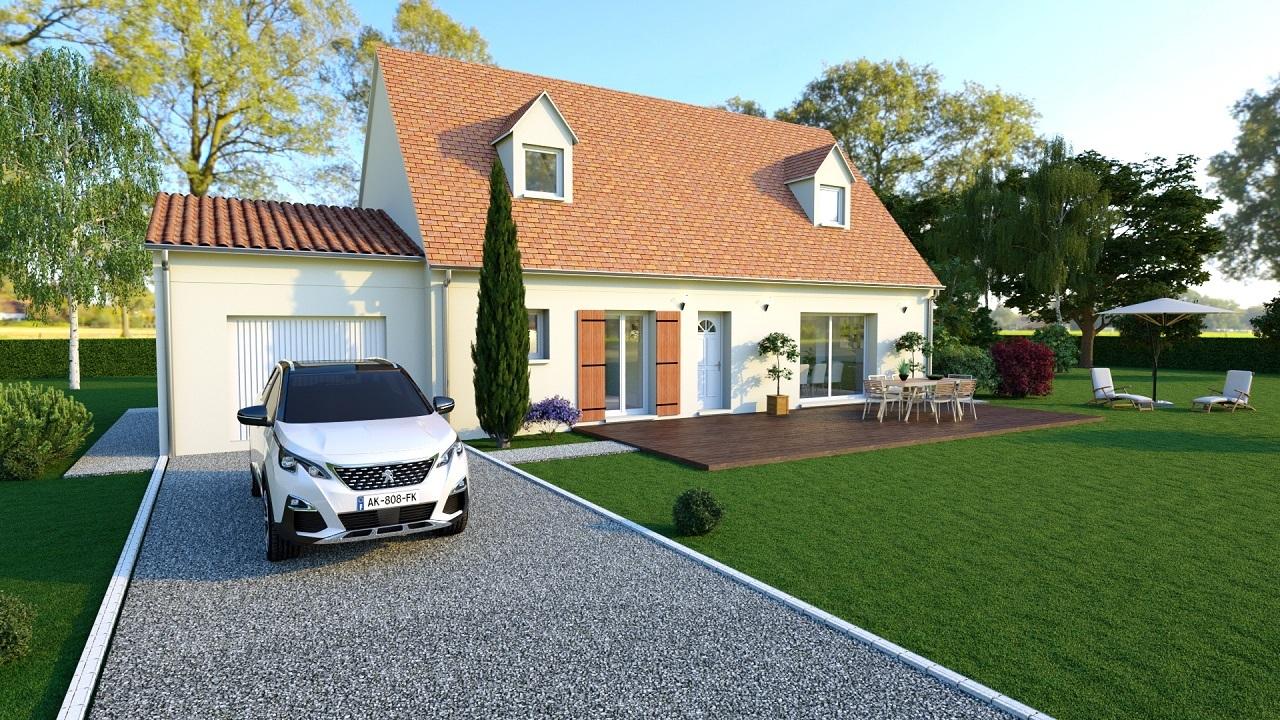 Maison à construire à Chancelade(24650)  sur un terrain de 925m²