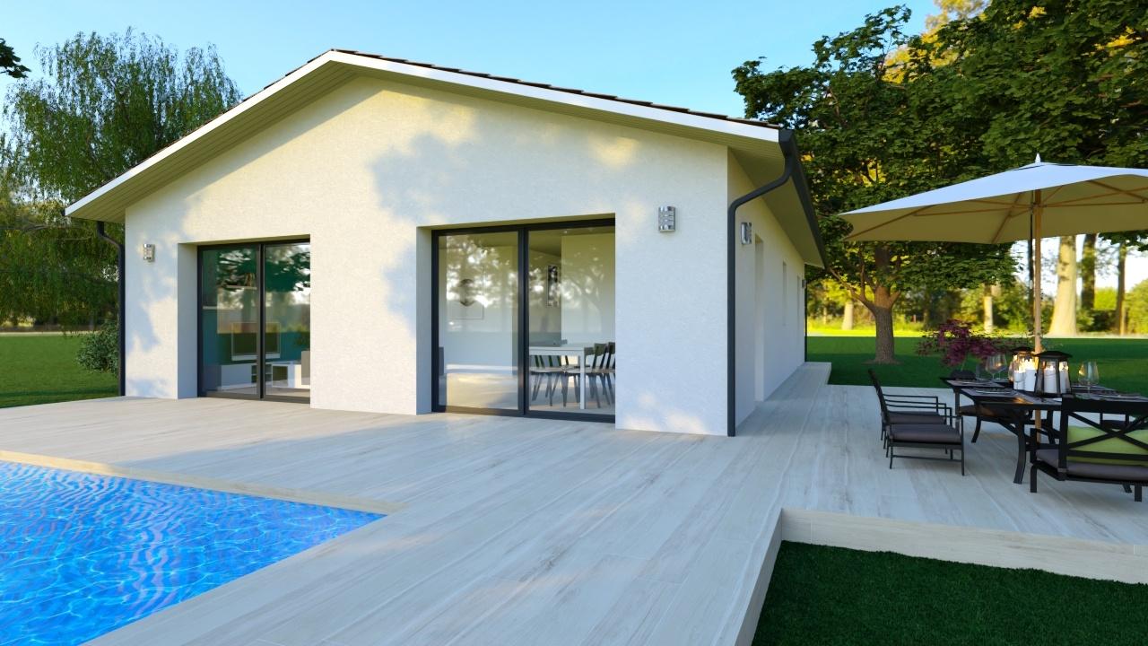 Maison et terrain constructible à Saint-Paul-en-Born