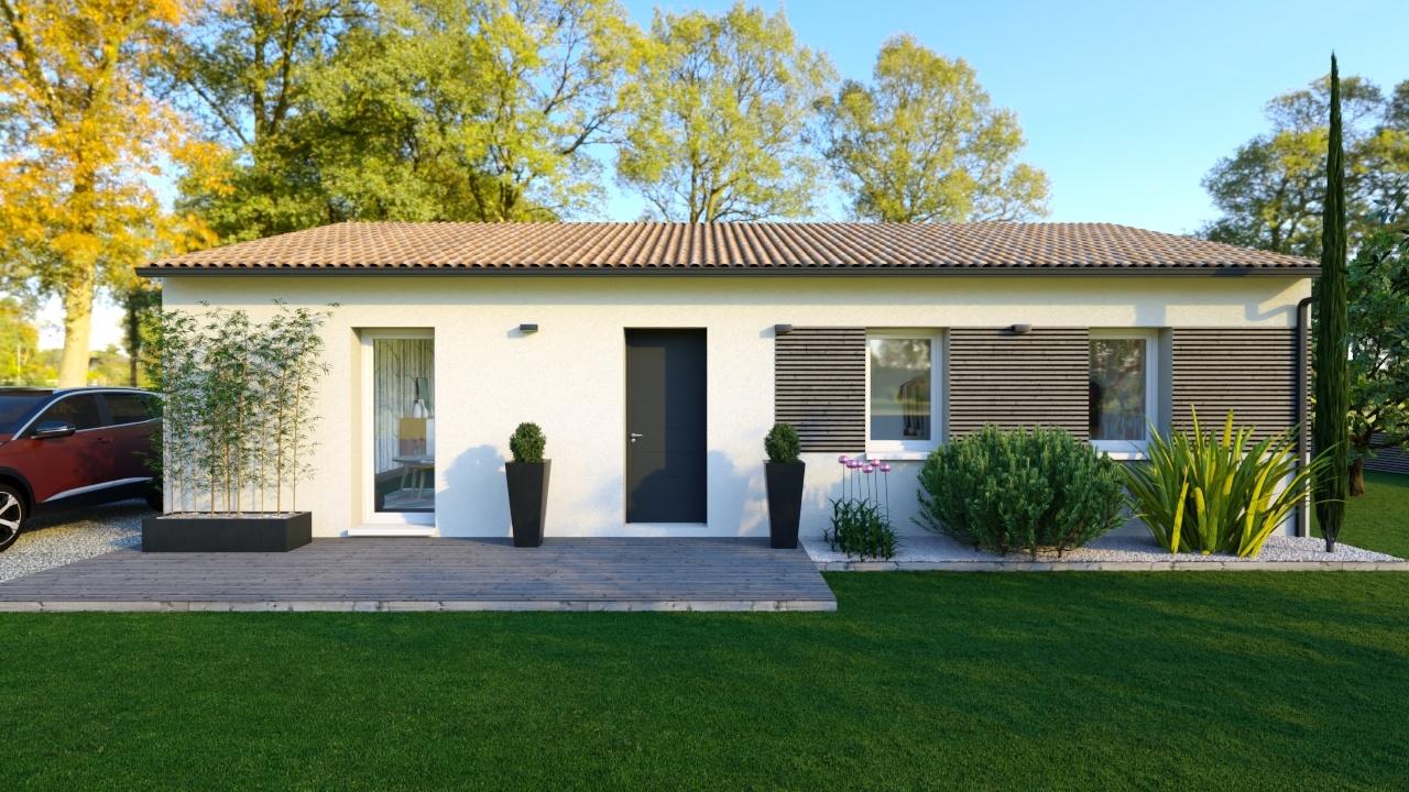 Maison et terrain constructible à Audenge