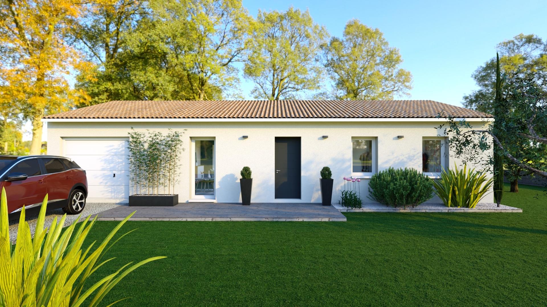 Maison et terrain constructible à Gardonne