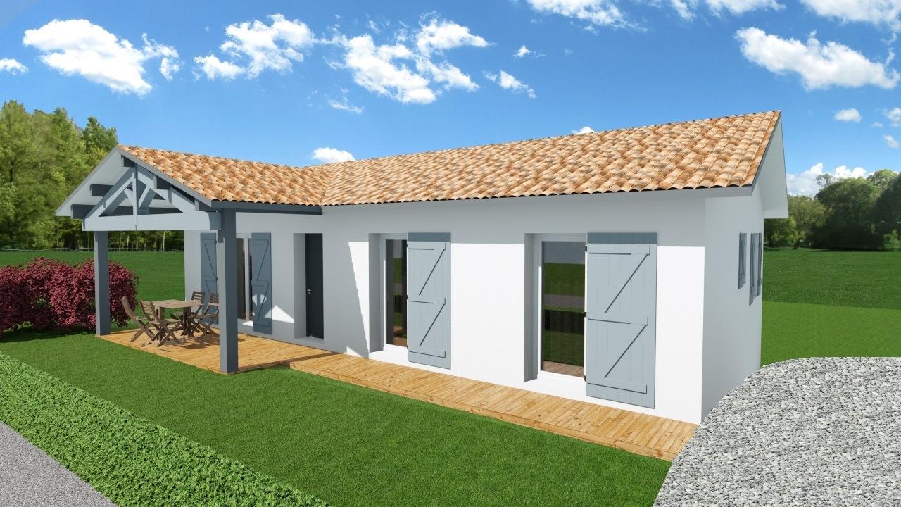 Maison et terrain constructible à Arraute-Charritte