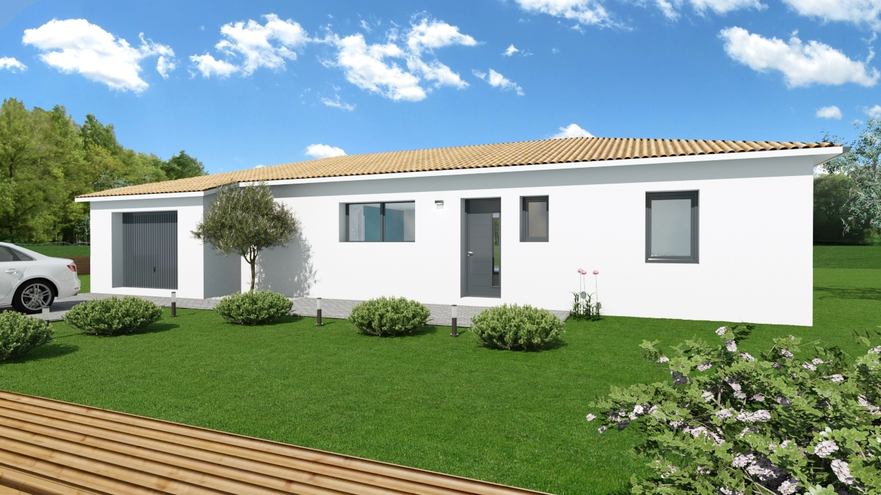 Maison et terrain constructible à Nay
