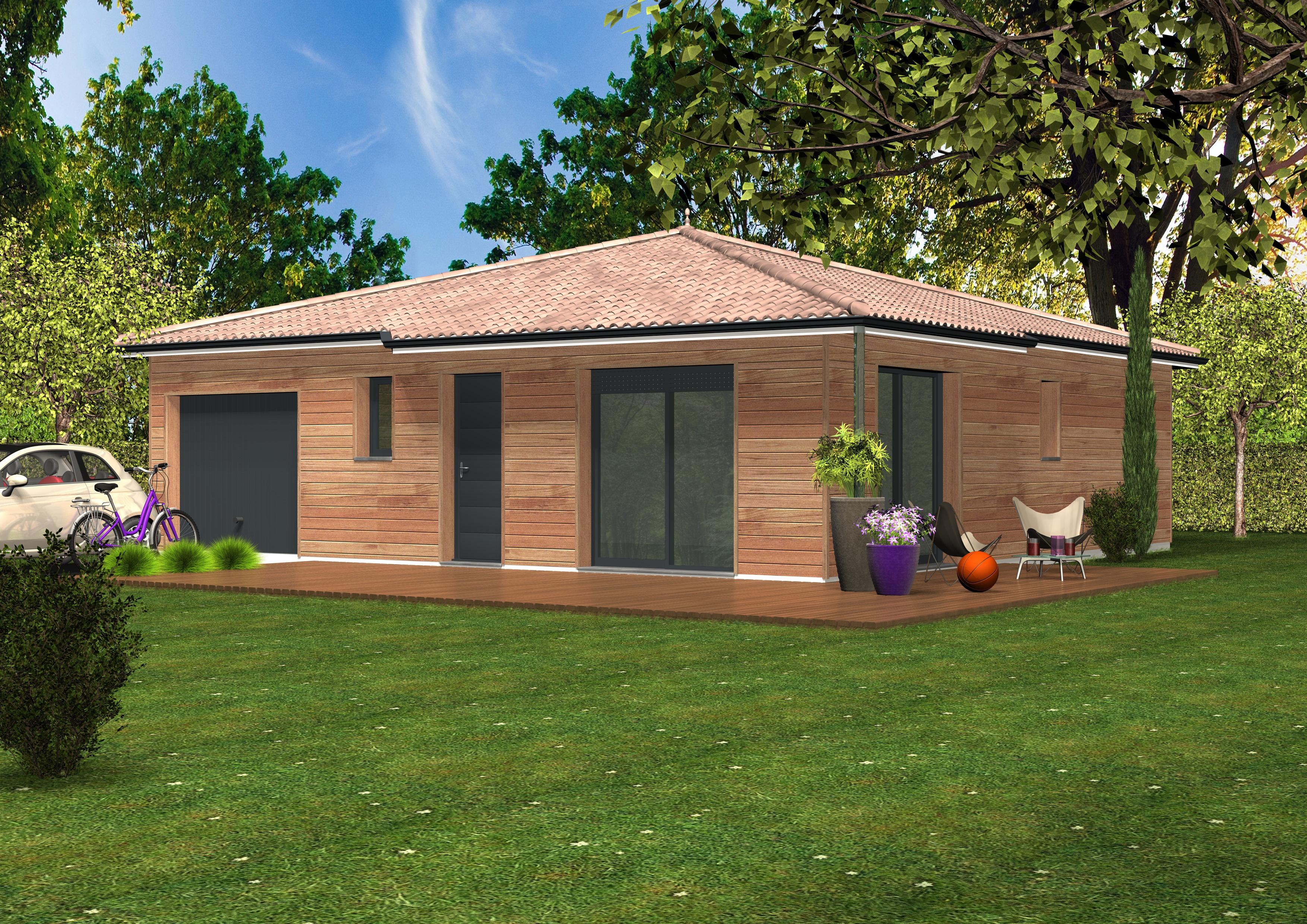 Maison en bois habitable 100m2 segu maison for Constructeur maison 33