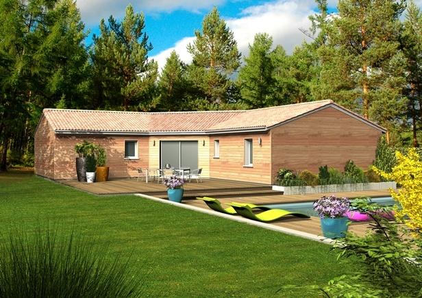 Vente d 39 un terrain izon 1478437 maisons bois clairlande for Tuiles vieillies