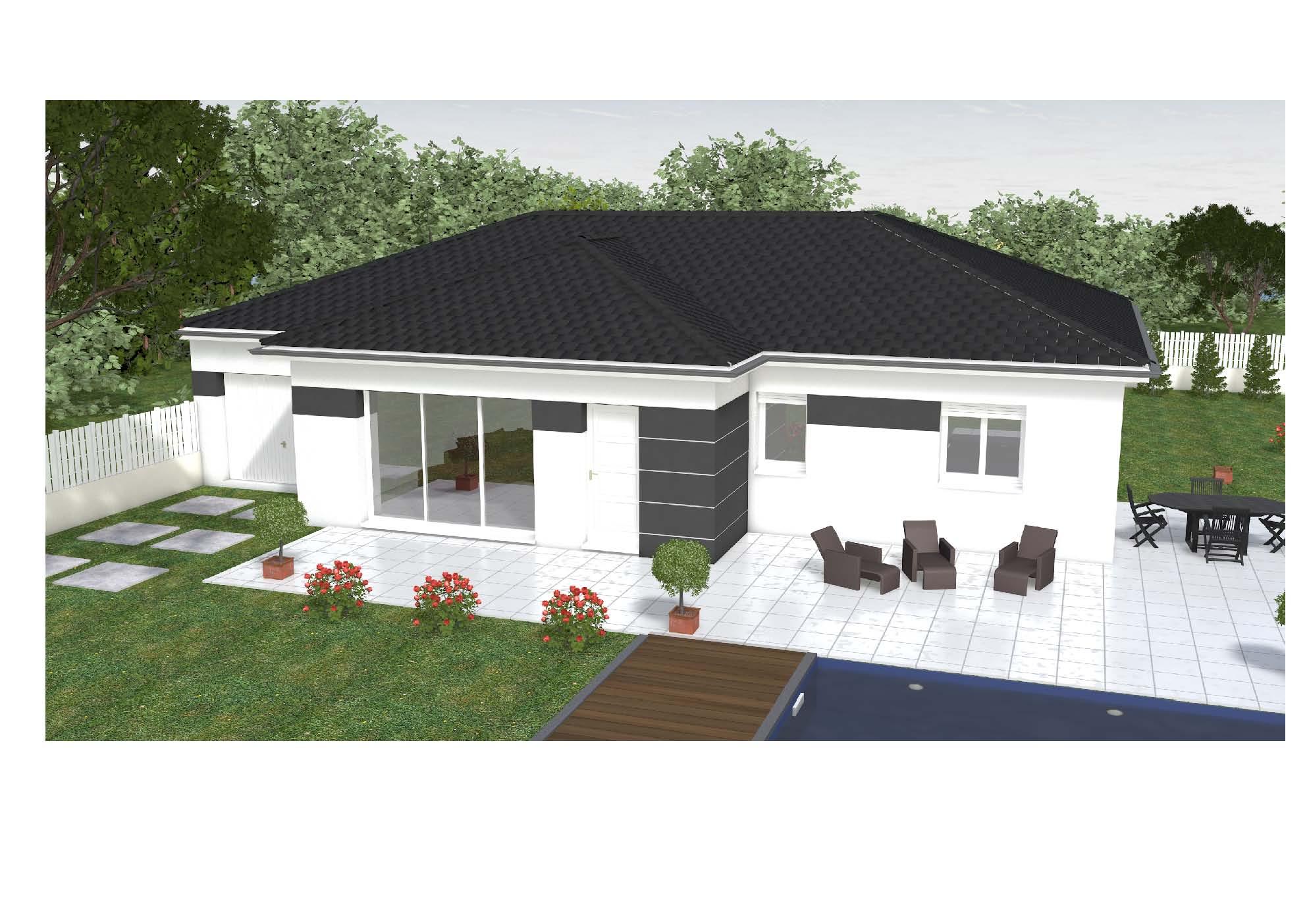 Maison et terrain constructible à Moncayolle-Larrory-Mendibieu