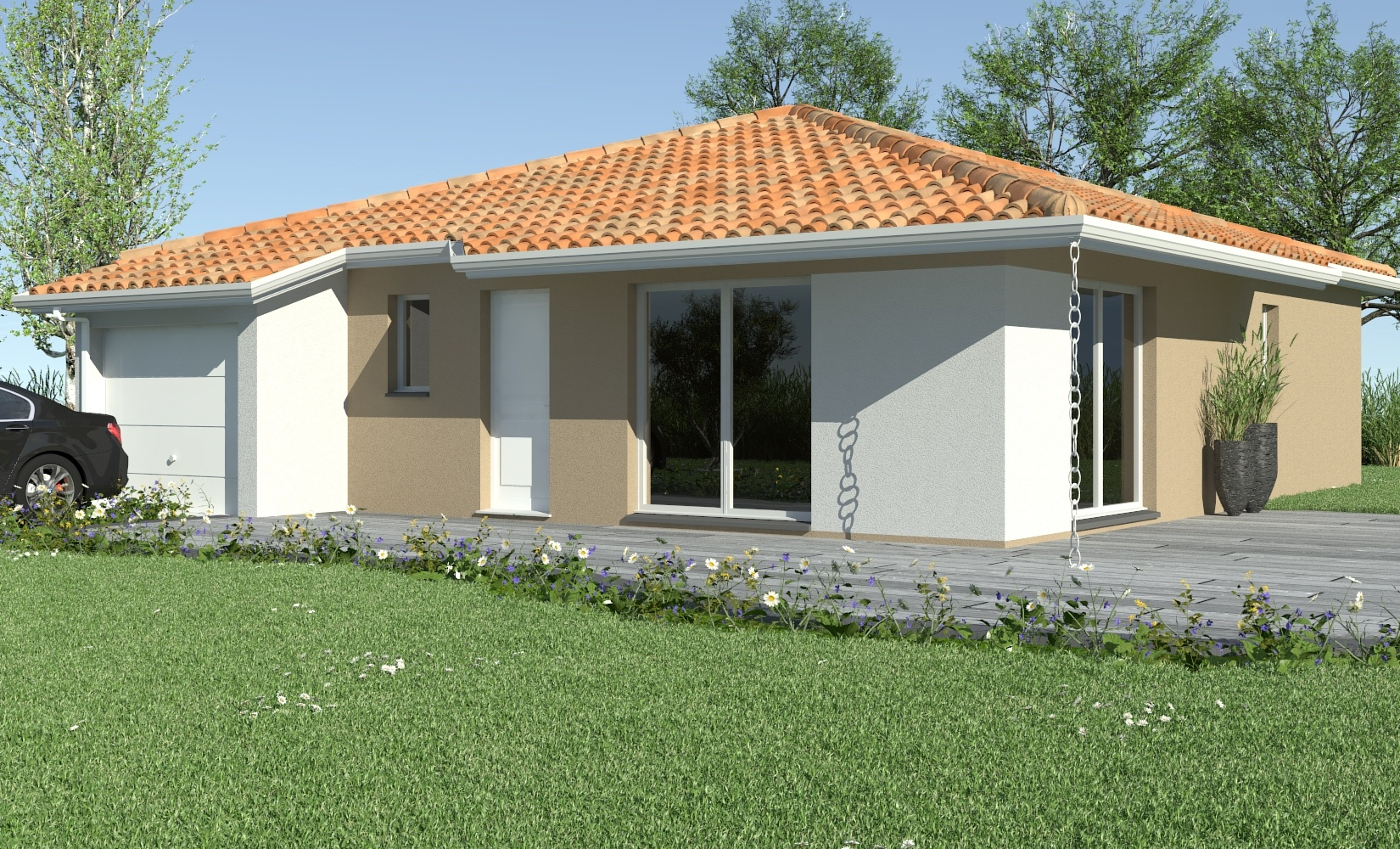 construction maison en pierre gironde ventana blog. Black Bedroom Furniture Sets. Home Design Ideas