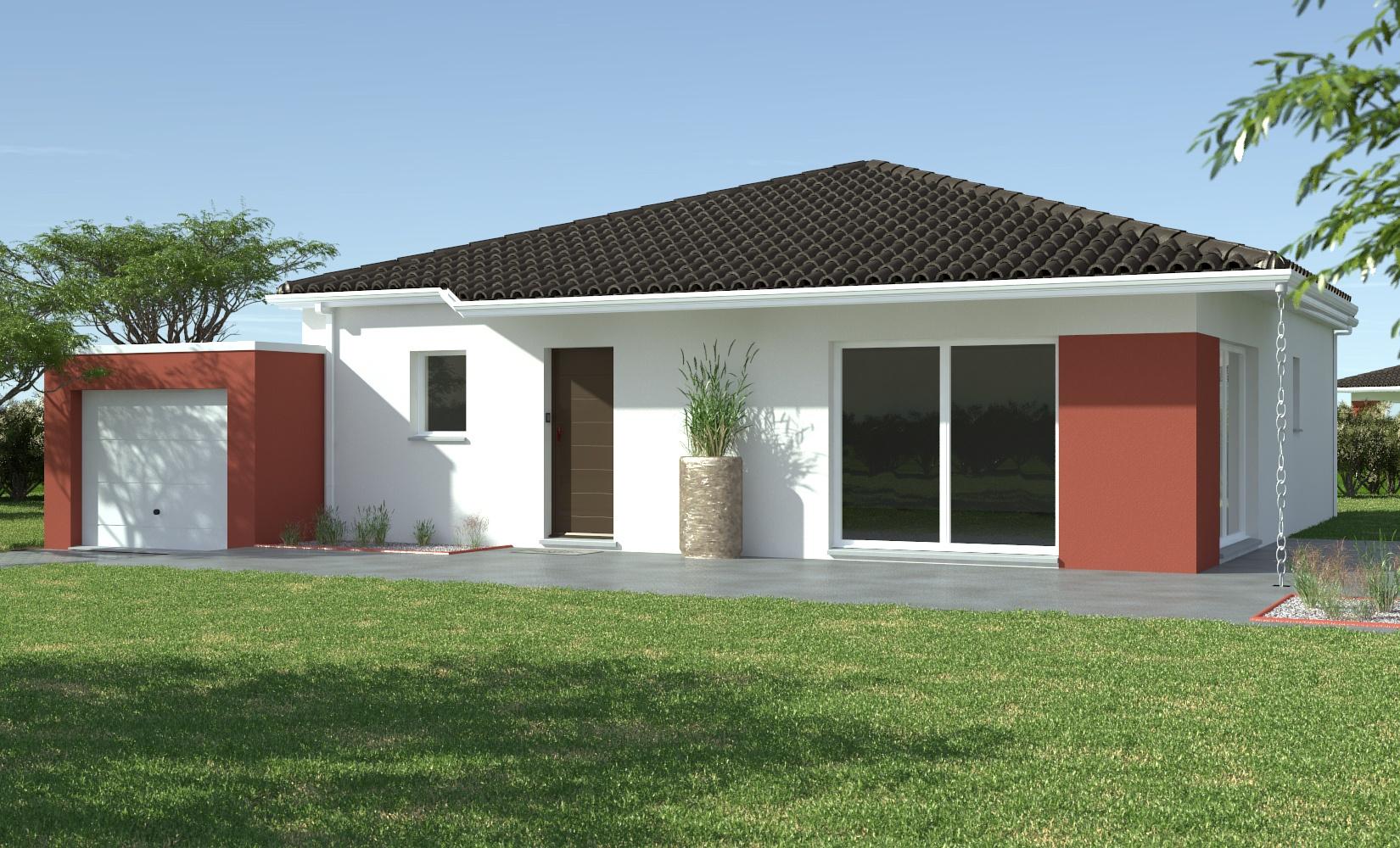 Maison et terrain constructible à Assat