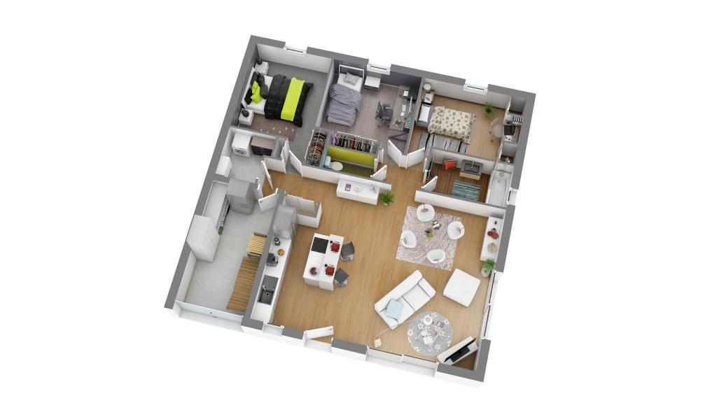 plan int rieur maison en ligne ventana blog. Black Bedroom Furniture Sets. Home Design Ideas