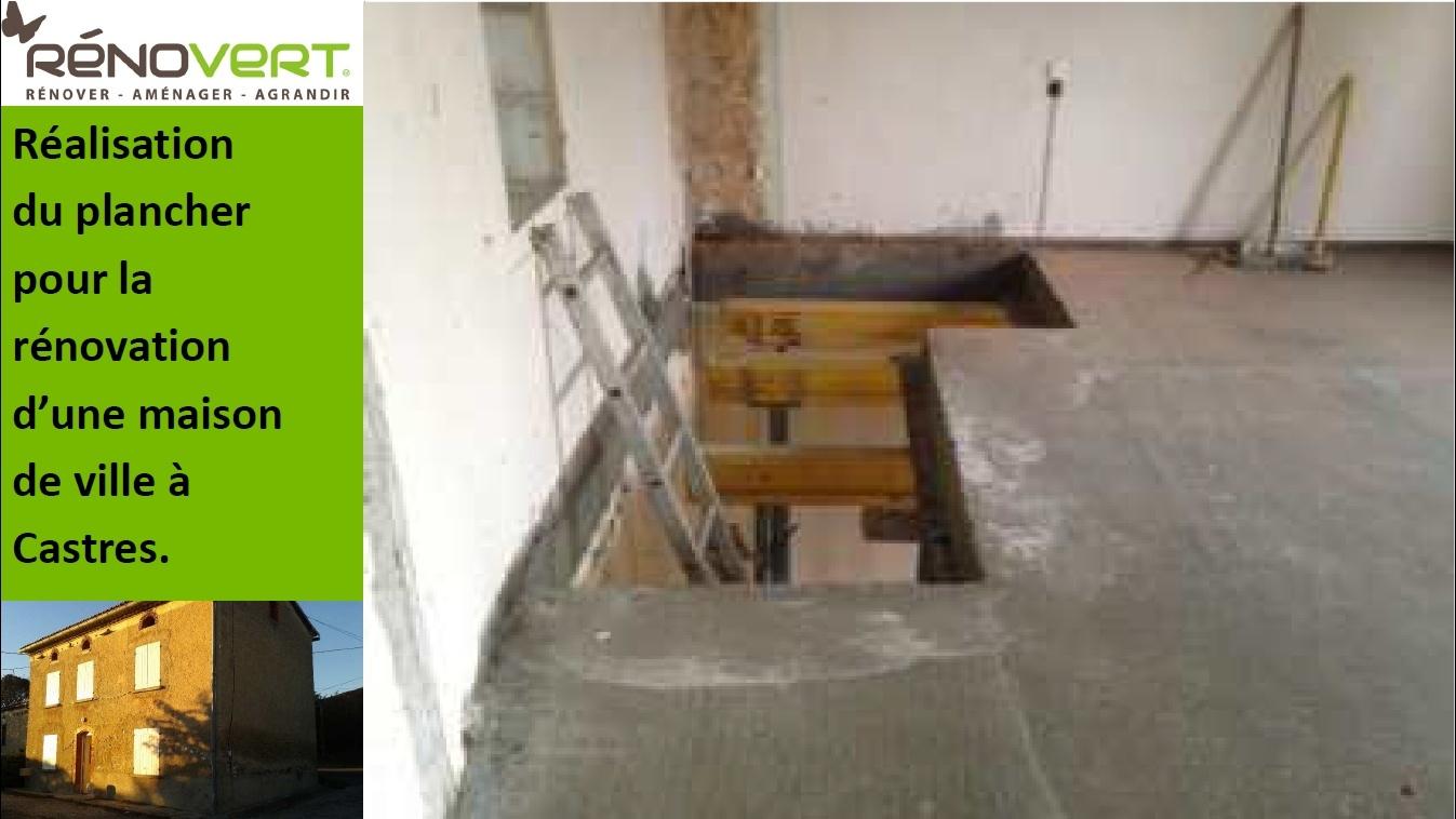 Creation D Une Tremie Escalier création du plancher pour la rénovation globale d'une maison