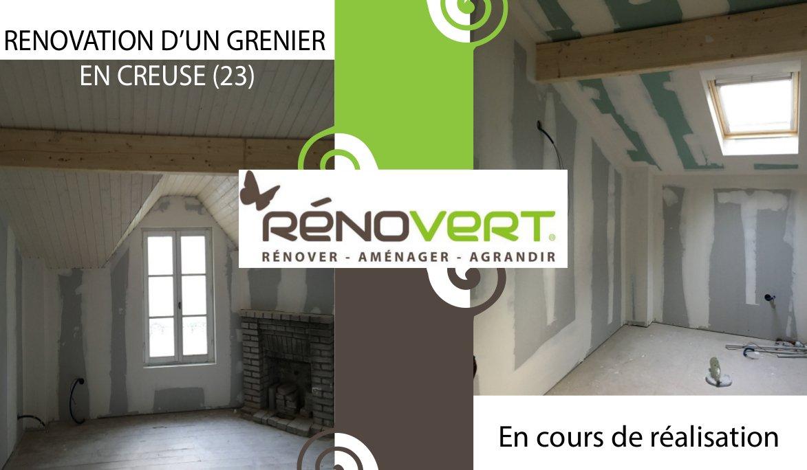 rénovation dans le Limousin