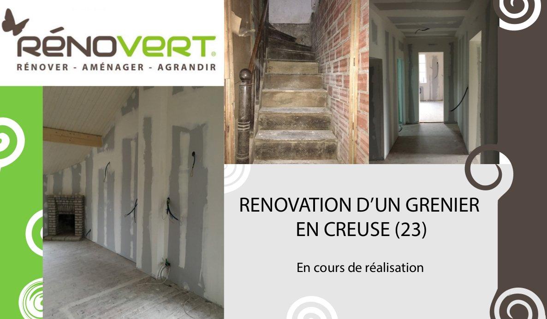 Rénovation en Limousin