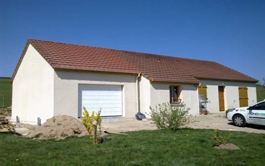 Aménagement Garage et création d'une extension de 41 m² à Charmoy (71750)