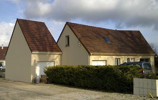 Construction d'un garage avec combles aménagés à Gilly Les Cîteaux (21640)