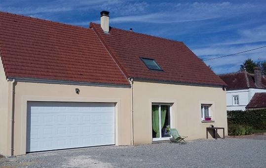 Construction d'un garage et d'une chambre en comble aménageable (61) sur Rénovert