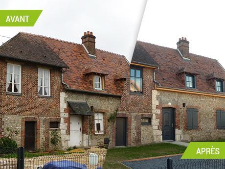 Rénovation complète d'une habitation existante