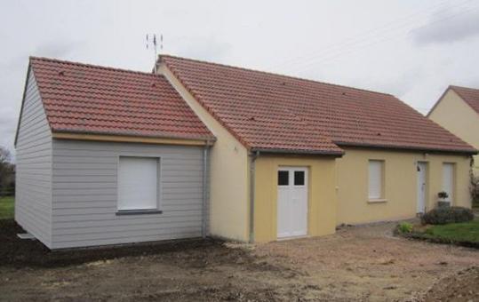 Projet d'extension sur un pavillon traditionnel à Bourg-Saint-Léonard (61310)