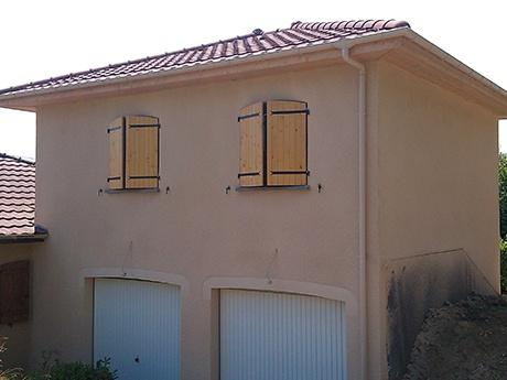 Création d'une extension : deux chambres avec salle de jeux à Saint-Jean-de-Bournay (38440)