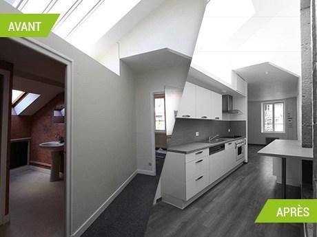 Rénovation et transformation de bureaux en appartements à Aurillac (15000)