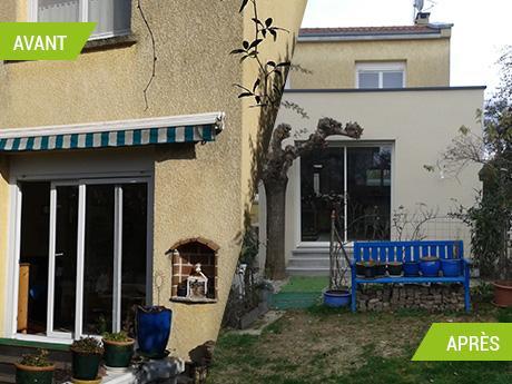 Construction d'une extension de maison salon et terrasse à Saint-Jean (31240)