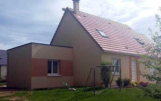 Extension d'un séjour à Saint-Pierre-des-Nids (53370)