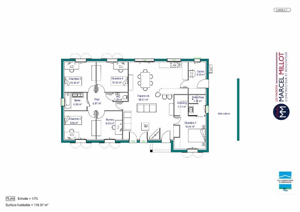 Maison De Plain Pied 120 M2 Haute Vienne Family 7