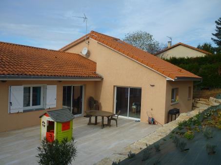 Rénovation complète et extension d'une maison dans le Beaujolais