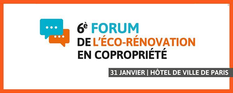 Camih Habitat est présent Forum Parisien de l'éco-rénovation en copropriété