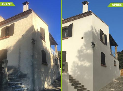 Ravalement de façade à Les Pennes Mirabeau (13)
