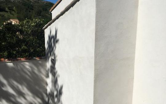 Création d'un escalier extérieur couvert à Lançon-Provence (13)