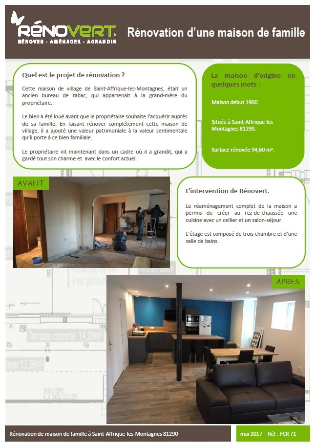 renovation maison qui contacter